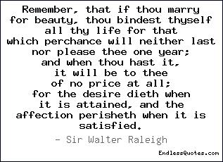 Remember, that if thou marry f